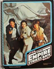 Empire Strikes Back Spiral Notebook - Han, Luke & Leia