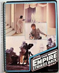 Empire Strikes Back Spiral Notebook - Luke, Leia & E-Web