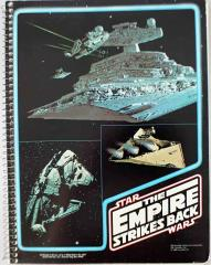 Empire Strikes Back Spiral Notebook - Star Destroyer & Millennium Falcon