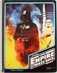 Empire Strikes Back Spiral Notebook - Darth Vader