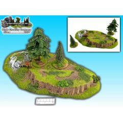 3 Piece Hill