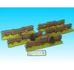 Wood Fence Set