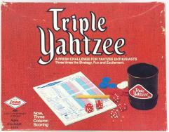 Triple Yahtzee (1973 Edition)