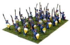 Arab Spearmen w/Kite Shields Collection #1