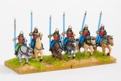 Cavalry w/Lance, Bow, & Shield - Light