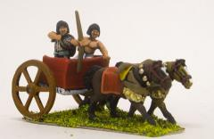 Later New Kingdom - 2-Horse Chariot w/Archer & Driver