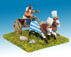 General & Driver in 2-Horse Chariot