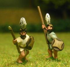 Kushite - Assorted Spearmen/Javelinmen