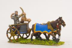 Archer & Driver in 2-Horse Chariot
