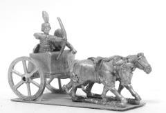 Kushite - 2-Horse Chariot w/Archer & Driver