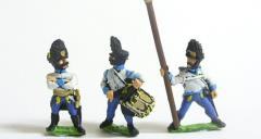 Hungarian Grenadier Command Pack - Officers, Standard Bearers & Drummers