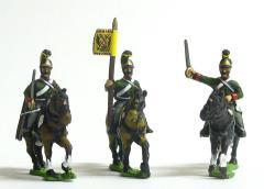Dragoon Command Pack - Officer, Standard Bearer & Trumpeter