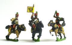 Hussar Command Pack - Officer, Standard Bearer & Trumpeter