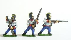 Hungarian Fusiliers in Helmets - Firing & Loading, Assorted