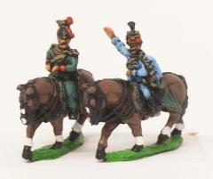 Austrian Cavalry - Staff Officers 1