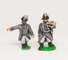Austrian Infantry Command - Feld-Jagers, Officers & Trumpeters