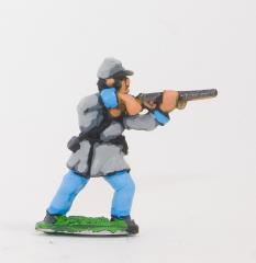 Infantry in Kepi & Frock Coat - Firing