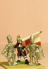 Grenadier w/Mitre & Falling Bag - Officer, Standard Bearer, & Drummer