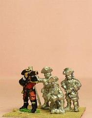 Grenadier Artillerymen in Tricorne - Assorted