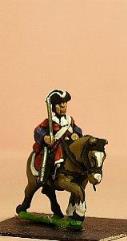 Line Cavalry in Tricorne - Cuirassier w/Walking Horse