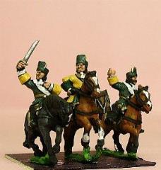 Spanish Dragoon w/Officer, Standard Bearer, & Drummer