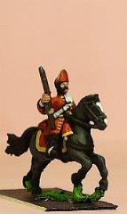Mounted Grenadier w/Mitre & Falling Bag