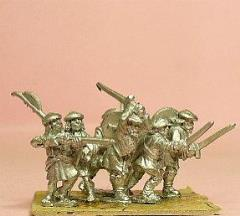 Highlanders - Front Rank Clansmen/Officers & NCO's, Assorted