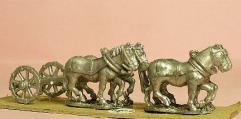 Limber w/Four Horses