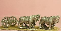 Limber w/Four Oxen