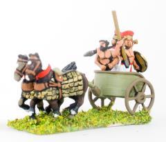 Chariot w/Driver & 2 Javelinmen