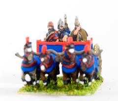 Heavy Chariot w/Driver, General & 2 Javelinmen