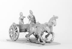 2 Horse Light Chariot w/Driver & Archer