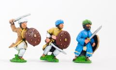 Arab Swordsmen w/Round Shield