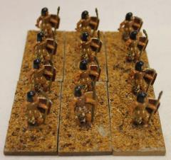 Egyptian Spearmen Collection #1