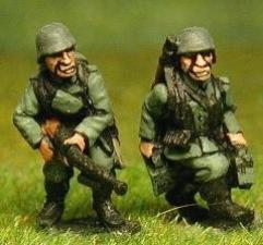 LMG Crew - Advancing, 1940-1944