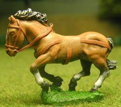 Unarmoured - Medium/Heavy, Galloping w/Head Bunched