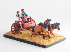 2-Horse Chariot w/Driver & Archer