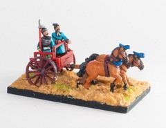 2-Horse Chariot w/Driver & Daggeraxeman