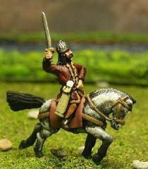 Mounted Officers w/Standard Bearer