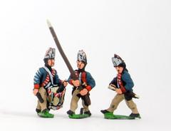 Command Pack - Fusilier Officer, Standard Bearer, & Drummer