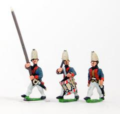Command Pack - Grenadier Officer, Standard Bearer, & Drummer