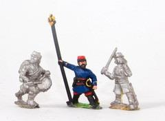 Command - Late Officers, Standard Bearers, Drummers