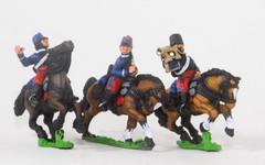 Cavalry Command - Hussar Officer, Standard Bearer, & Trumpeter