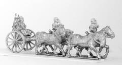 French Horse Artillery Limber w/4 Horses, 2 Drivers, 2 Gunners