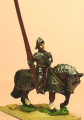 Mounted Knights 1420-1480 w/Full Plate Sallet, L., & AH. #1