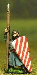Isleman/Galloglaich w/Long Tunic, Kite Shield, & Spear
