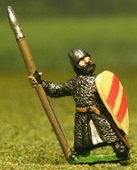 Isleman/Galloglaich w/Mail Coat, Kite Shield, & Spear