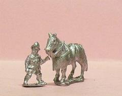 Horseholders & Armored Horses