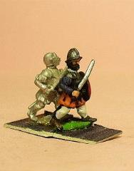 Armored Swordsmen w/Round Shields - Assorted