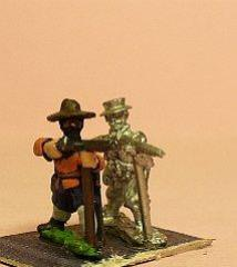Musketeers in Hats w/Resting & Firing Variants